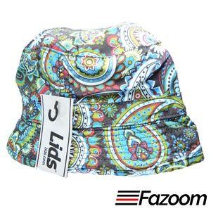 Lids Mens Reversible Bucket Hat (Paisley, L/XL)